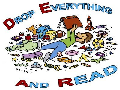 Oct 24 - Drop Everything And Read!