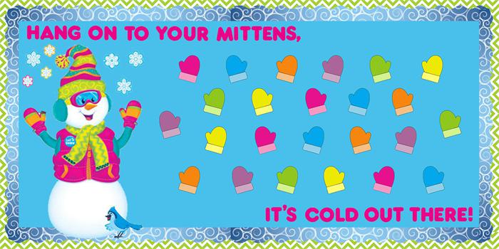 Reminder to Dress Warm!